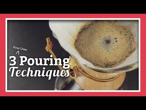 3 Pour Over Pouring Techniques | Joe's Take Over