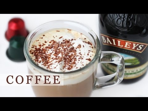 Baileys Coffee Recipe for Holidays – Irish Coffee 베일리스 아이리쉬 커피 만들기