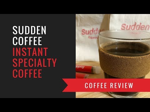 Sudden Coffee Review: The Best Instant Coffee?