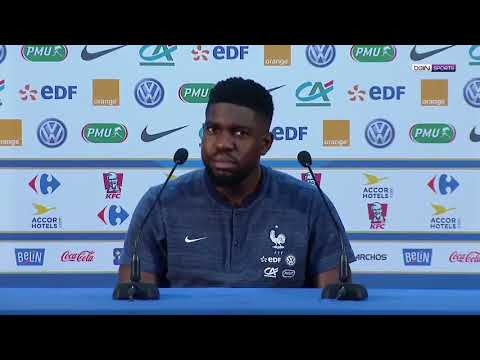 Umtiti's priceless reaction when French press called him 'Paul'!!!