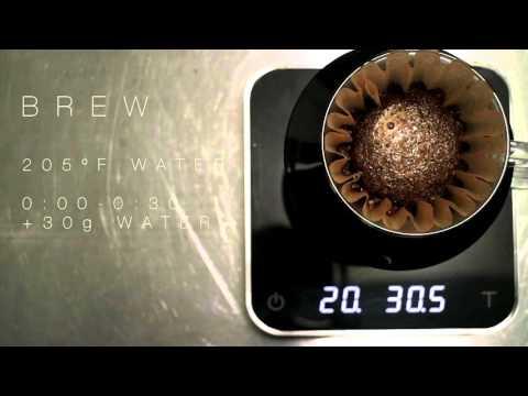 Pour Over Coffee: Kalita Wave