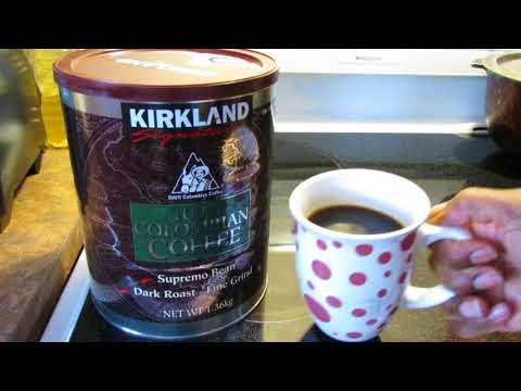 Kirkland Signature 100% Columbian Supremo Coffee review