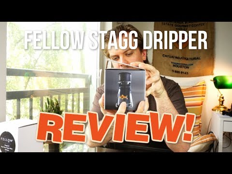 Fellow Stagg [X] Pour-Over Coffee Dripper – Unboxing and First Time Review