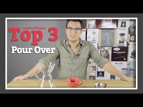Top 3 Pour Over Coffee Brewers | SCG's Top Picks