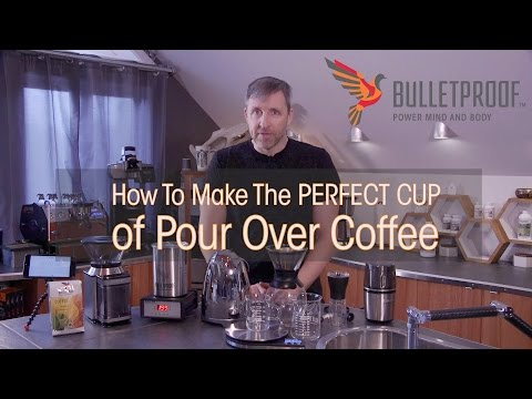 How To Make the Perfect Cup of Pour Over Coffee w/ Dave Asprey