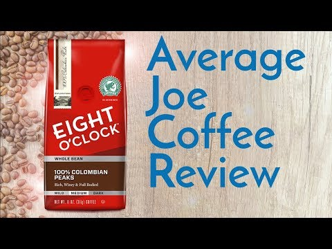 Eight O'Clock 100% Colombian Peaks Coffee Review