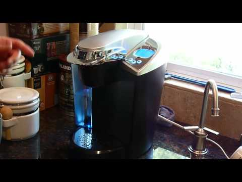 Demo of the Keurig Coffee Brewing System