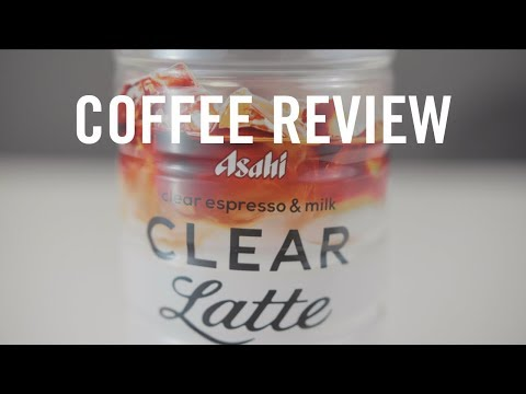 Coffee Review: Asahi Clear Latte