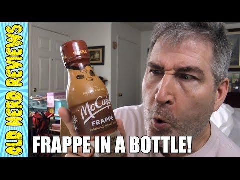 McCafe Mocha Frappe Coffee In A Bottle REVIEW ☕