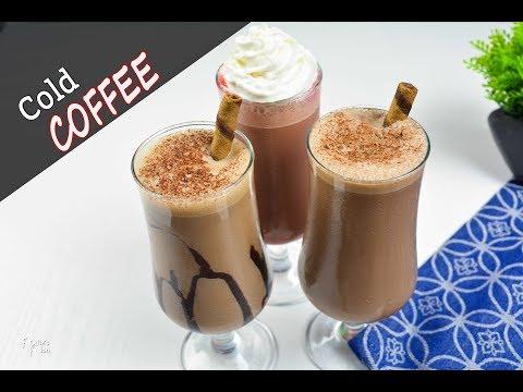 কোল্ড কফি | ২ মিনিটে ৩টি স্বাদে কফি | 3 Cold Coffee Recipes at Home |Cold Coffee Recipe Bangla Video