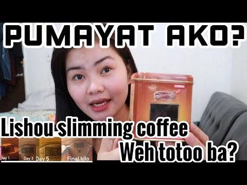 LISHOU SLIMMING COFFEE UPDATE| PUMAYAT AKO? EFFECTIVE TALAGA