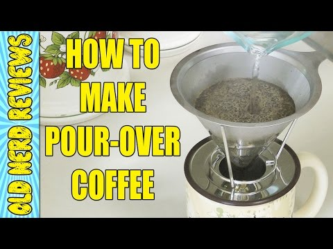 How To Make Pour Over Coffee, Simple & Easy Method (Java-Palooza) ☕