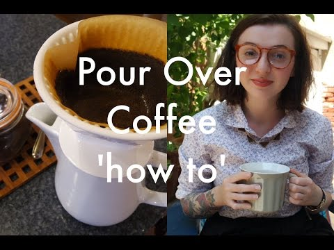 How to make 'pour over' coffee at home