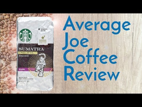Starbucks Sumatra Coffee Review