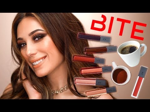 NEW! BITE BEAUTY FRENCH PRESS LIP GLOSSES! | HIT OR MISS? |  LIP SWATCHES | Victoria Lyn