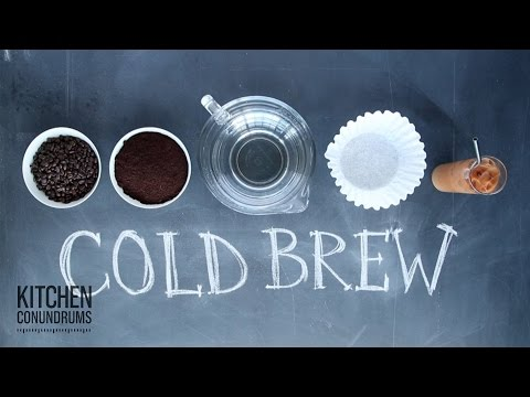 DIY Cold-Brew Coffee – Kitchen Conundrums with Thomas Joseph