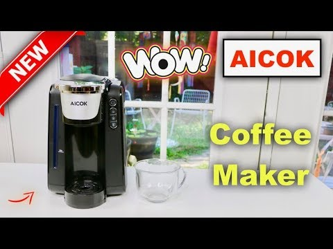 😍   AICOK Single Serve Coffee Maker – Review    ✅
