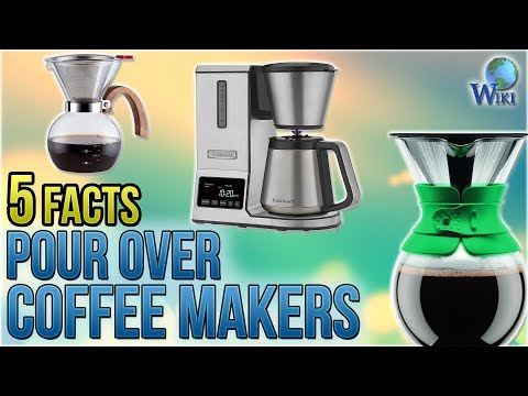 Pour Over Coffee Makers: 5 Fast Facts