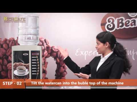9940592328‎-Demo & Installation of Four option Coffee Vending machine