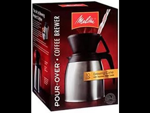 Pour Over Coffee, Melitta