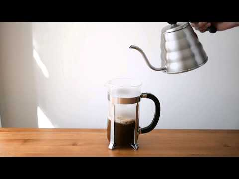 Tutorial: How to make perfect French Press coffee at home.