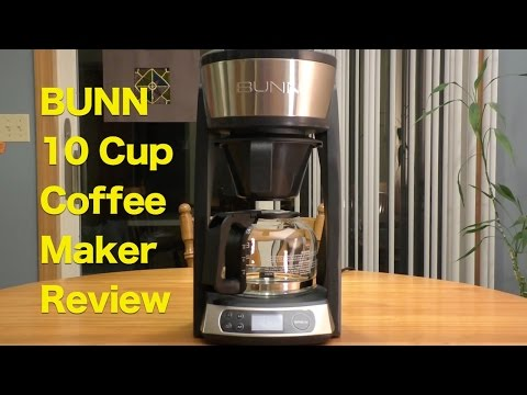 BUNN 10-cup Programmable Coffeemaker Review, Holiday Gift For Coffee Lovers!