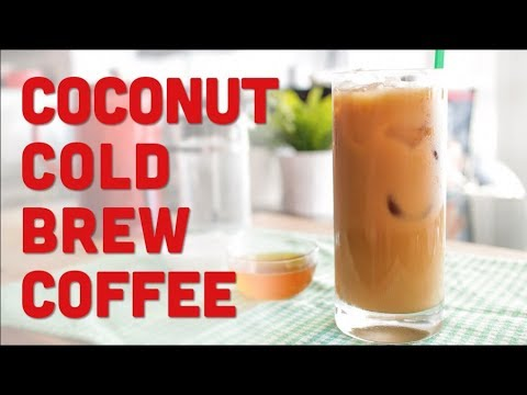 Toasted Coconut Cold Brew Coffee (Starbucks Copycat Recipe) – Pai's Kitchen