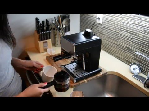 Using Mr Coffee Steam Espresso & Cappuccino Maker