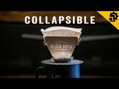 How to Make Coffee with BRCC Collapsible Pour Over Coffee Device