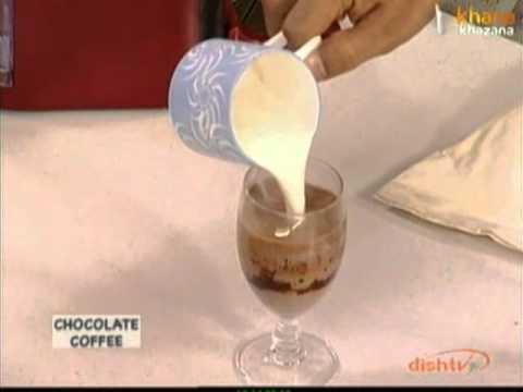 Chocolate Coffee – Sanjeev Kapoor – Khana Khazana