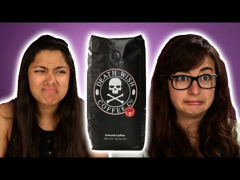 People Try Death Wish Coffee For The First Time