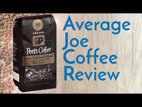 Peets Coffee Major Dickason's Blend Review