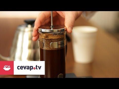 French Press ile kahve nasıl demlenir?