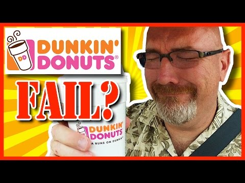 Dunkin' Donuts Coffee Review FAIL!!!