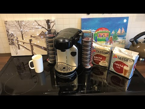 BOSCH Tassimo Caddy, Silver Edition Coffee Machine , Unboxing, Set Up & Demo
