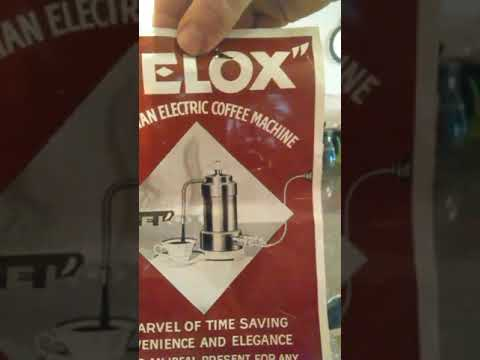Velox espresso machine Demo. Reto coffee brewer