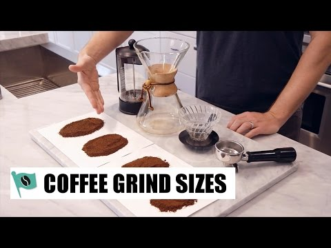 Coffee Grind Sizes For Popular Brew Methods | Stay Roasted