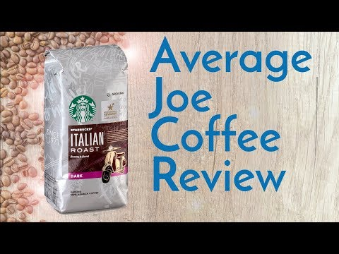 Starbucks Italian Roast Coffee Review