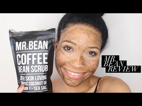 Mr. Bean Coffee Bean Scrub Review and Tutorial