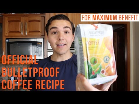 How to Make REAL Bulletproof Coffee (The Official Recipe)