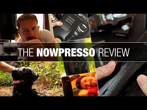 NowPresso Review – A Portable Espresso Coffee Machine that Boils Water!