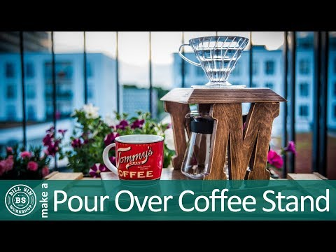 How to make Pour Over Coffee Stand – Best pour over coffee maker