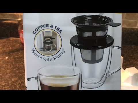 Java Concepts | Pour Over Coffee Brewer Review | K Cup Alternative