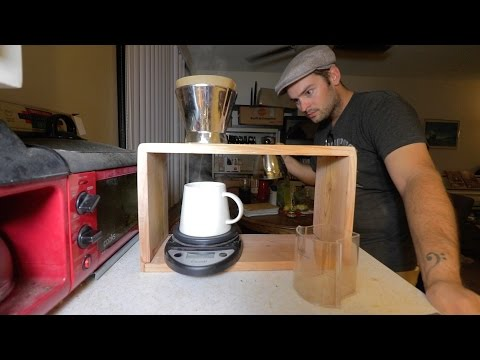 I made a pour over coffee station!