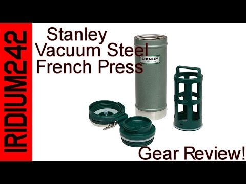 Stanley Vacuum Steel French Press