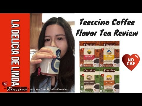 Teeccino Coffee Alternative Review |  Hazelnut, Vanilla Nut, Chocolate & French Roast | Acid Reflux