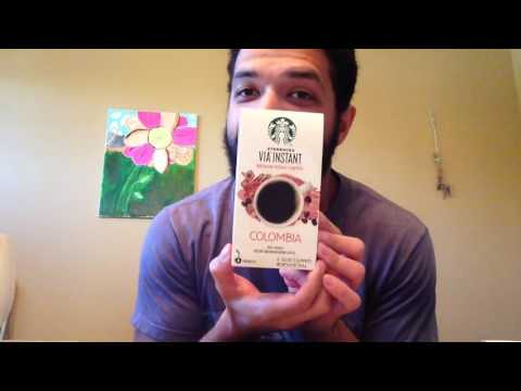 Starbucks Via Instant Colombia Coffee Review