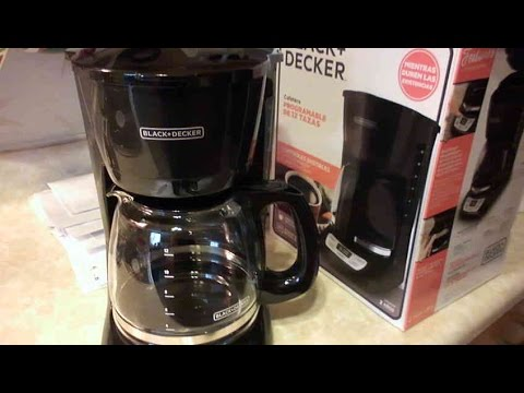 Review Black and Decker 12 Cup Coffee Maker Model CM0960BF