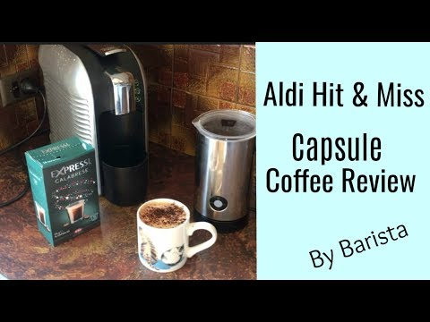 Aldi Hit & Miss | Capsule Coffee Machine Demo & Review by Barista