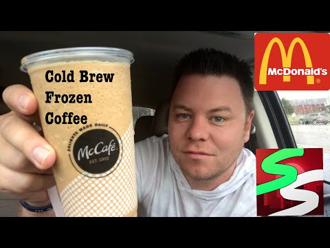 McDonald's Cold Brew Frozen Coffee | New Drink Review